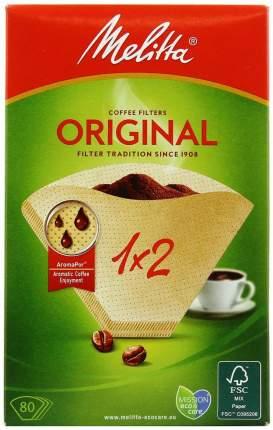 Фильтры бумажные Melitta для заваривания кофе 1х2/80,кор, (0100762)