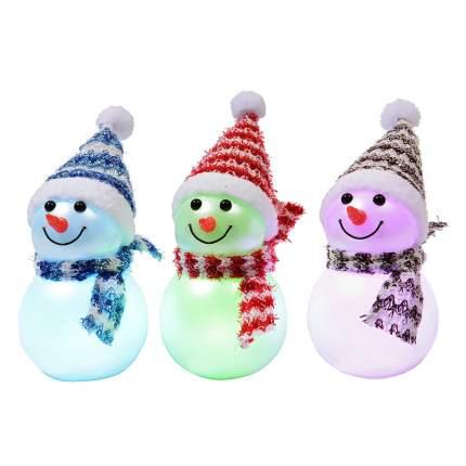 Kaemingk Снеговичок светящийся, 11 см, LED, батарейка 482628