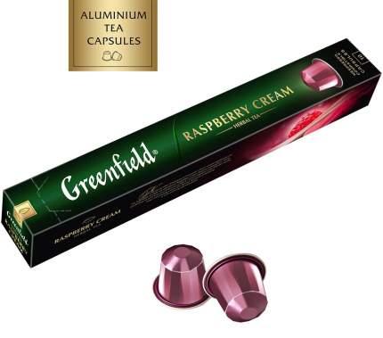 Чай в капсулах Greenfield raspberry cream 10 капсул