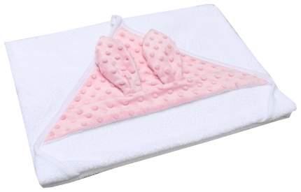 Полотенце детское AmaroBaby Honey bunny розовый 90*90 см