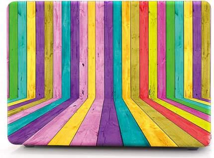 "Чехол для Macbook Pro 15"" i-Blason Cover Retina 3D color wood"