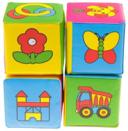 """Развивающие кубики для ванны """"Учим слова"""", 4 шт. Крошка Я"""