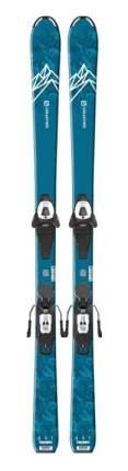 Горные лыжи Salomon E QST MAX Jr M + L6 GW J2 80 2020, 130 см