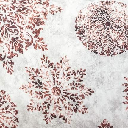 Набор салфеток Lameirinho 40x40см, цвет бежевый, коричневый, 100% хлопок