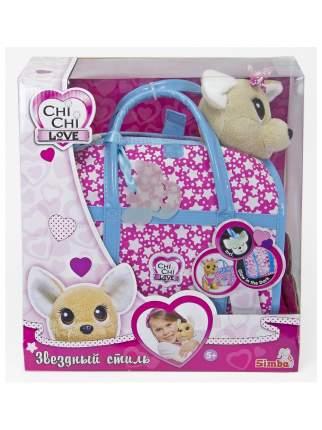 """Мягкая игрушка CHI CHI LOVE 589311 Собачка """"Звездный стиль"""" с сумочкой"""