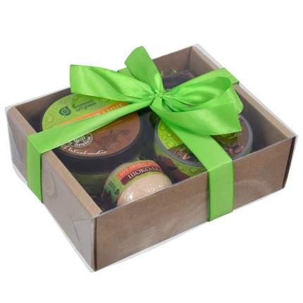 Подарочный набор Банные штучки Шоколадное SPA 4 предмета