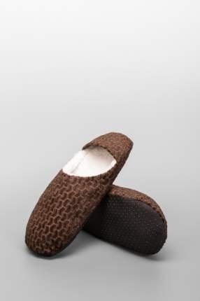 Домашние тапочки мужские Jimmy Fashion 7008-3 коричневые 37-38 RU