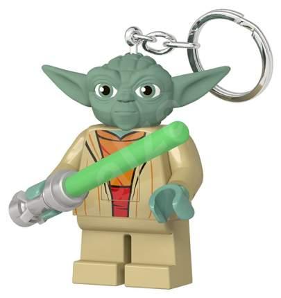 "Брелок-фонарик для ключей Lego ""Star Wars. Yoda with Lightsaber"""