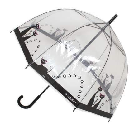 Зонт механический Flioraj 121205 FJ белый
