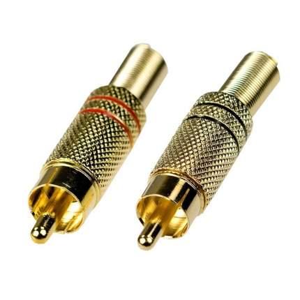 Разъём RCA штекер под пайку на кабель