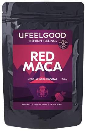 Мака красная молотая Ufeelgood red maca powder organic