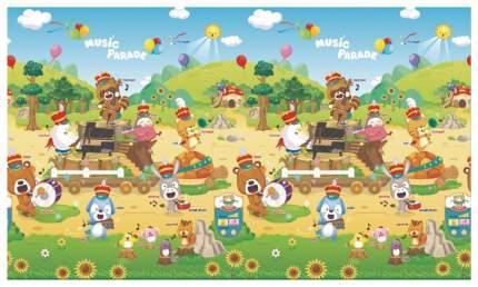 Коврик игровой музыкальный детский развивающий Dwinguler Sound PlayMat Music Parade