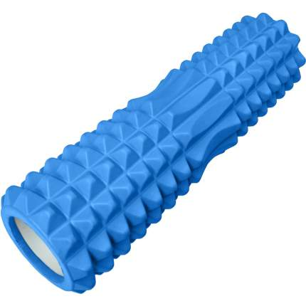 B31260-2 Ролик для йоги синий 45х15см ЭВА/АБС