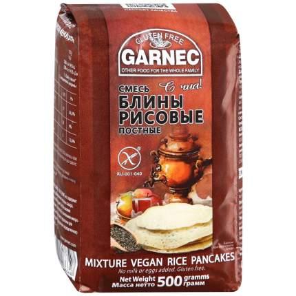 Смесь Garnec блины рисовые постные без глютена 500 г