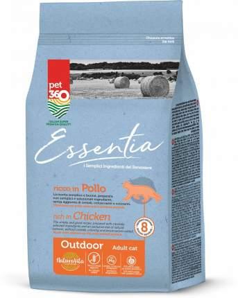 Сухой корм Essentia для активных кошек (1,5 кг, Курица с индейкой)