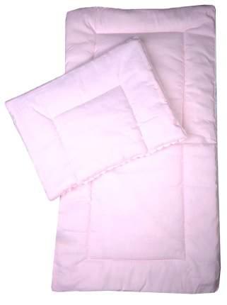 Комплект в коляску Bambola, матрасик, подушка (цвет: розовый)