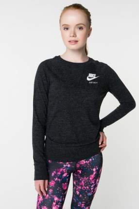 Лонгслив женский Nike 883725-010 черный 46 USA