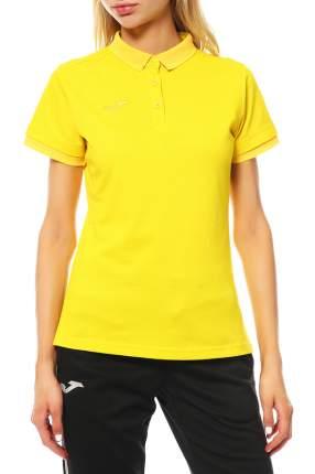 Поло женское Joma 900444,9 желтое M