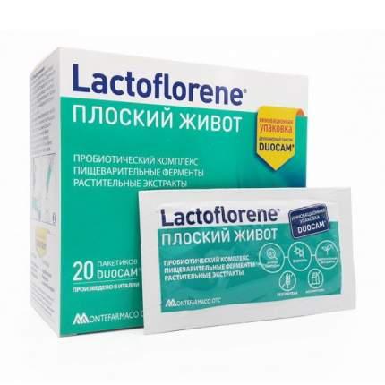 Прибиотический комплекс Lactoflorene Плоский живот, 20 пакетиков