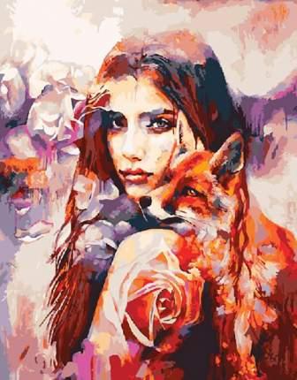 Картина по номерам ВанГогВоМне Кицуне, 40x50