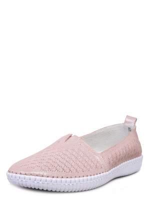 Эспадрильи женские Alessio Nesca Comfort 710018744 розовые 36 RU
