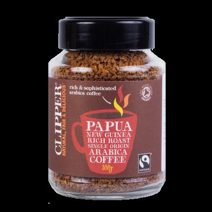 Кофе растворимый Clipper Папуа-Новая Гвинея органик 100 г