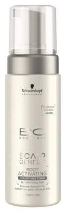 Пена для роста волос Schwarzkopf BC Scalp Genesis Root Activating Densifying Foam 150 мл