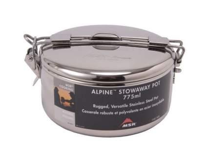 Туристическая кастрюля MSR Alpine Stowaway Pots стальная 0,78 л