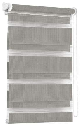 Рулонная штора Эскар День-Ночь 170х37 цвет серый
