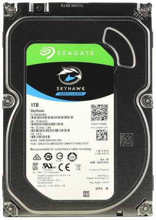 Внутренний жесткий диск Seagate Skyhawk 1TB (ST1000VX005)