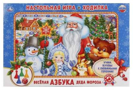 Семейная настольная игра Умка Веселая Азбука Деда Мороза
