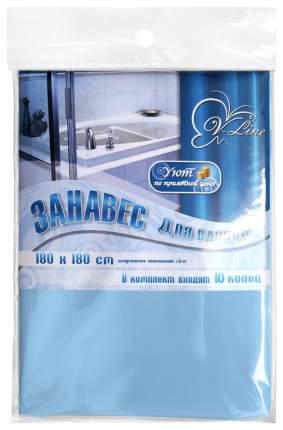 Штора для ванной Вилина п/э 180х180 см