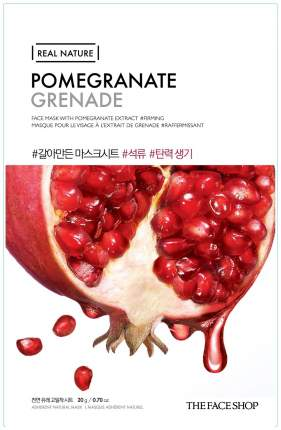 Маска для лица The Face Shop Real Nature Pomegranate Face Mask 20 г