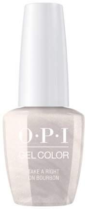 Гель-лак для ногтей OPI Gelcolor Take A Right On Bourbon 15 мл