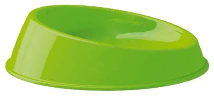 Одинарная миска для кошек и собак Georplast, пластик, зеленый