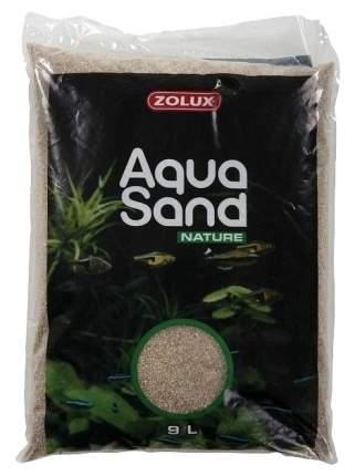 Грунт Zolux Aquasand Nature Quartz Moyen для аквариума песок средний (3 мм) 9 л (13,04 кг)