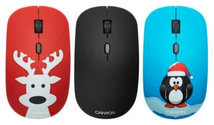 Беспроводная мышь CANYON CND-CMSW521DP Red/Blue