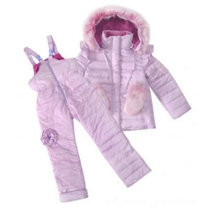 Комплект верхней одежды Bon&Bon, цв. фиолетовый р. 140