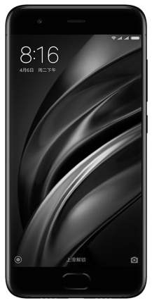 Смартфон Xiaomi Mi 6 128Gb Black