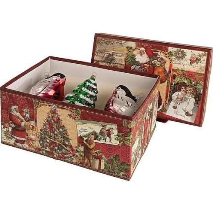 Набор елочных игрушек Mister Christmas 3шт