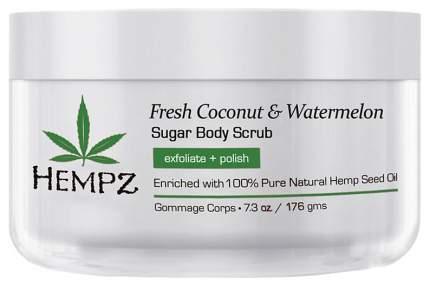 Скраб для тела Hempz Fresh Coconut & Watermelon Sugar Body Scrub 176 г