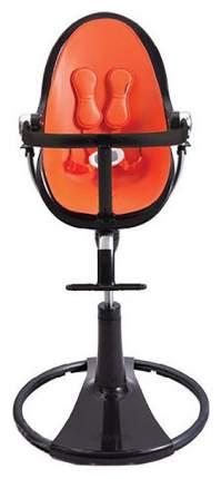 Стульчик для кормления Bloom Fresco Chrome Noir черный, оранжевый