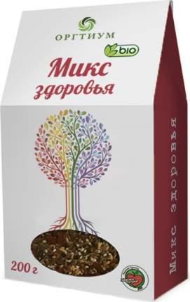 Микс здоровья Оргитум семена чиа-ягоды годжи-лен-кунжут 200 г