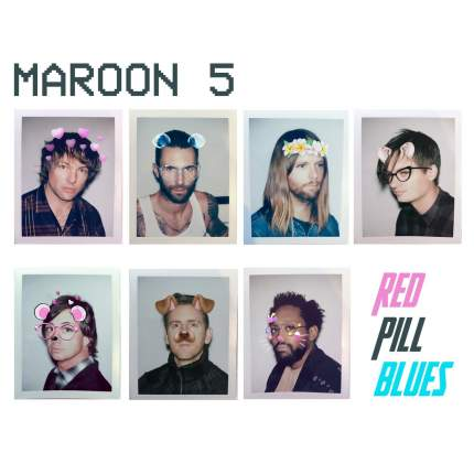"Аудио диск Maroon 5 ""Red Pill Blues"""
