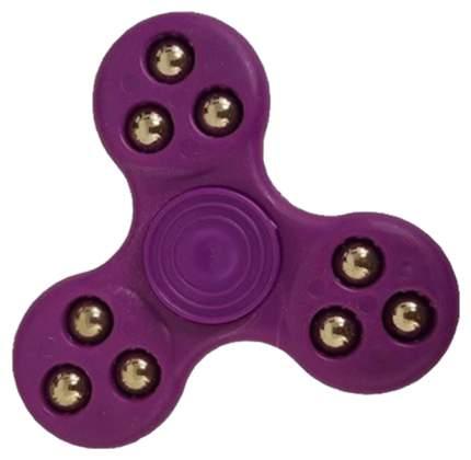 Пластиковый спиннер Fidget Spinner Roller Ball фиолетовый