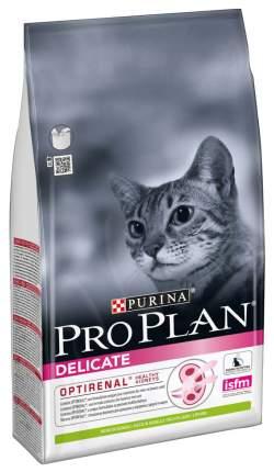 Сухой корм для кошек PRO PLAN Delicate, при чувствительном пищеварении, ягненок, 7кг