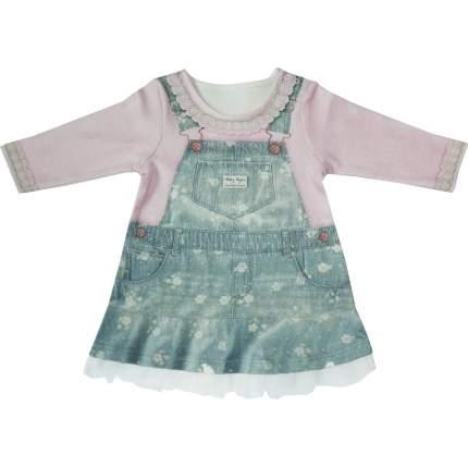 Платье Папитто Fashion Jeans с длинным рукавом р.22-74, 577-07