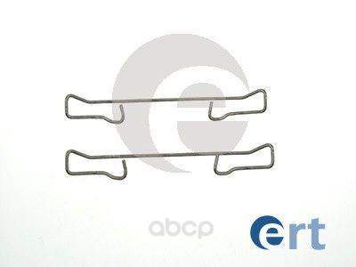 Комплект монтажный тормозных колодок Ert для Ford C-max 03-07/Renault Clio 05- 420010