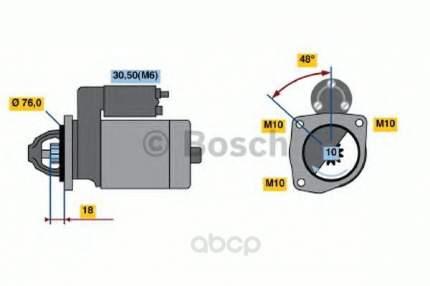Стартер Bosch 0986022631