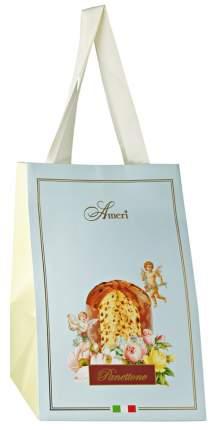 Кулич пасхальный Ameri с изюмом и цукатами в голубой сумке 500 г